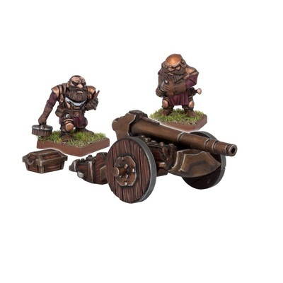 Dwarf Ironbelcher Cannon - Dwarfs Zwerge - Kings of War - Mantic Games