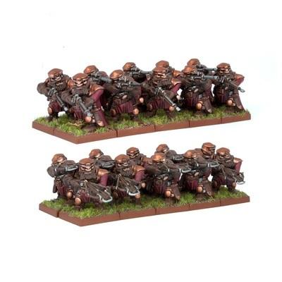 Dwarf Ironwatch Regiment - Dwarfs Zwerge - Kings of War - Mantic Games