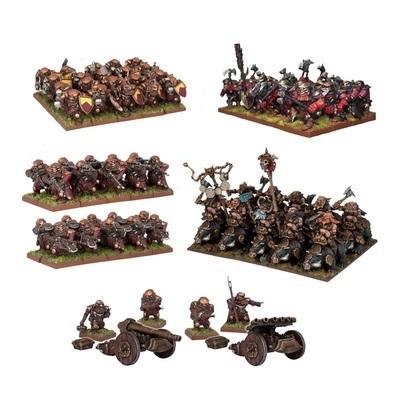 Dwarf Starter Force - Dwarfs Zwerge - Kings of War - Mantic Games