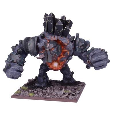 Greater Obsidian Golem - Abyssal Dwarfs - Kings of War - Mantic Games