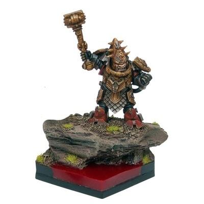 Abyssal Dwarf King - Abyssal Dwarfs - Kings of War - Mantic Games