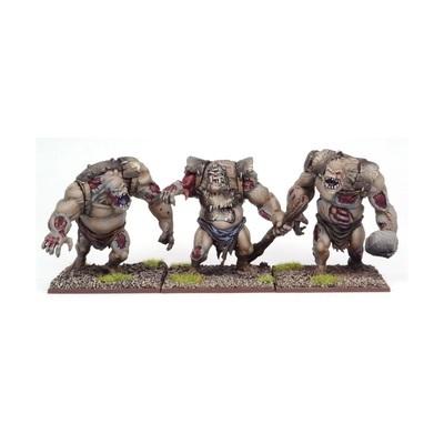Undead Zombie Troll Regiment - Untote - Undead - Kings of War - Mantic Games