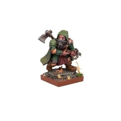Dwarf Herneas The Hunter - Dwarfs Zwerge - Kings of War - Mantic Games