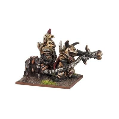 Abyssal Dwarf Dragon Fire Team - Abyssal Dwarfs - Kings of War - Mantic Games