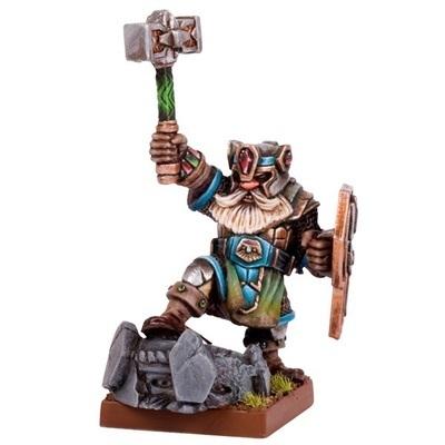 Dwarf King - Dwarfs Zwerge - Kings of War - Mantic Games