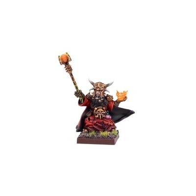 Abyssal Dwarf Iron-caster - Abyssal Dwarfs - Kings of War - Mantic Games