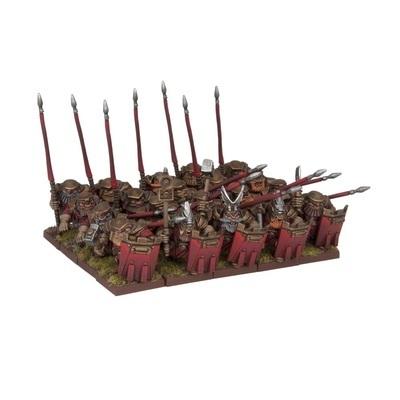 Dwarf Bulwarkers Regiment - Dwarfs Zwerge - Kings of War - Mantic Games