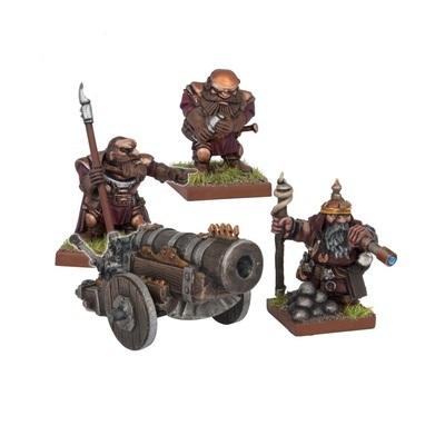 Dwarf Bombard - Dwarfs Zwerge - Kings of War - Mantic Games