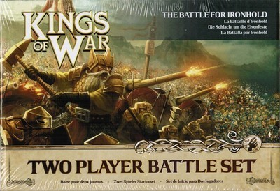Kings of War 2nd Edition Two Player Battle Set - Kings of War - Mantic Games