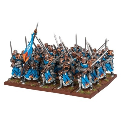 Paladins (20) - Basilean - Kings of War - Mantic Games