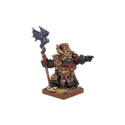Abyssal Dwarf Ghenna Keeper of the Black Flame - Abyssal Dwarfs - Kings of War - Mantic Games