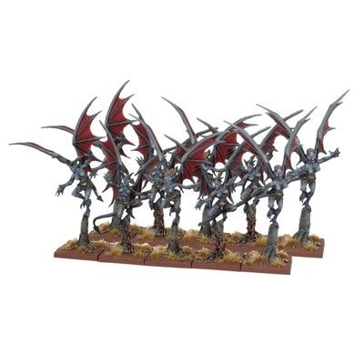 Abyssal Dwarf Gargoyles - Abyssal Dwarfs - Kings of War - Mantic Games
