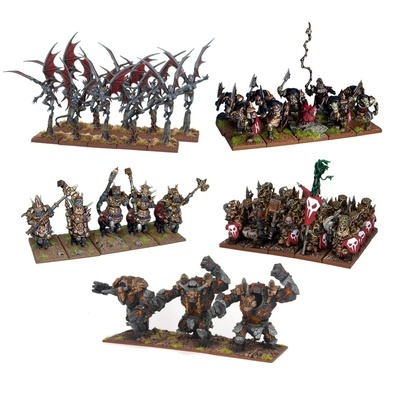 Abyssal Dwarf Army 2nd Edition - Abyssal Dwarfs - Kings of War - Mantic Games
