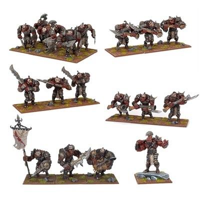 Ogre Starter Force - Oger - Kings of War - Mantic Games