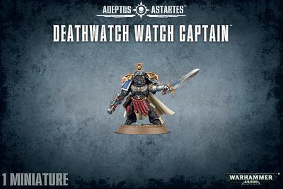 DEATHWATCH WATCH CAPTAIN - Warhammer 40.000 - Games Workshop