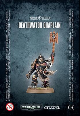 DEATHWATCH CHAPLAIN - Warhammer 40.000 - Games Workshop