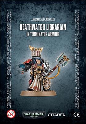 DEATHWATCH LIBRARIAN /TERMINATOR ARMOUR - Warhammer 40.000 - Games Workshop