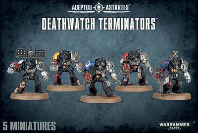 DEATHWATCH TERMINATORS - Warhammer 40.000 - Games Workshop