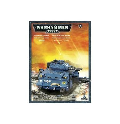 Space Marines Predator - Warhammer 40.000 - Games Workshop