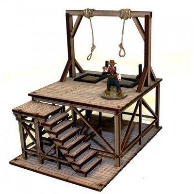 DMH Feature Building 4: Hangman's Gallows - 4Ground