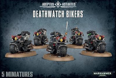 DEATHWATCH BIKERS - Warhammer 40.000 - Games Workshop