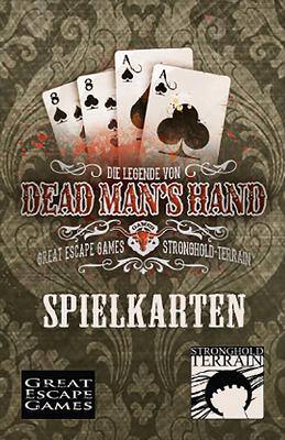 Dead Man's Hand Spielkarten (86) (Deutsch) - Stronghold Terrain