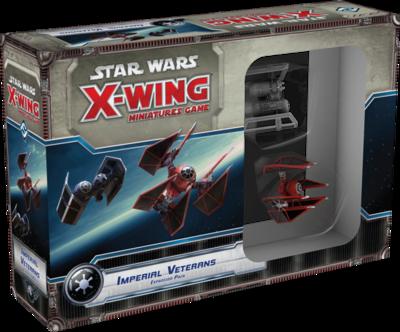 Star Wars: X-Wing Miniaturen-Spiel - Veteranen des Imperiums Erweiterung-Pack ENGLISH