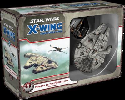 Star Wars X-Wing: Helden des Widerstandes - Erweiterung-Pack DEUTSCH