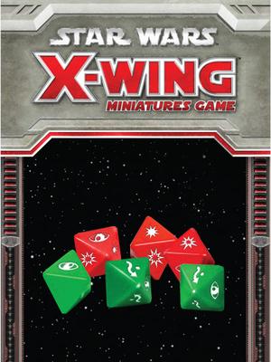 Star Wars: X-Wing Dice Pack - X-Wing-Würfel