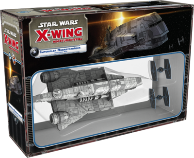 Star Wars: X-Wing - Imperialer Angriffsträger Imperial Assault Carrier (Gozanti) Erweiterung-Pack Deutsch