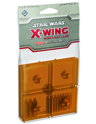 Star Wars: X-Wing - Orange Bases and Pegs • Expansion Pack - SWX47