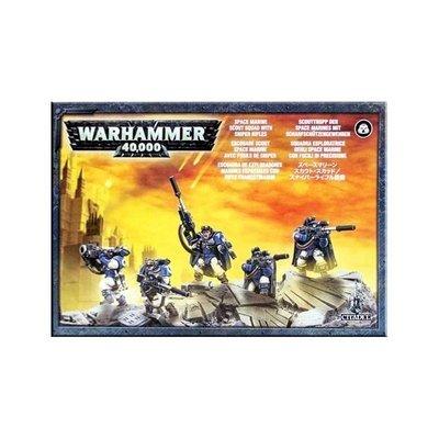 Scouts der Space Marines mit Scharfschützengewehren Sniper Rifles - Warhammer 40.000 - Games Workshop