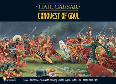 Hail Caesar: Conquest of Gaul Starter Set DEUTSCH - Warlord Games