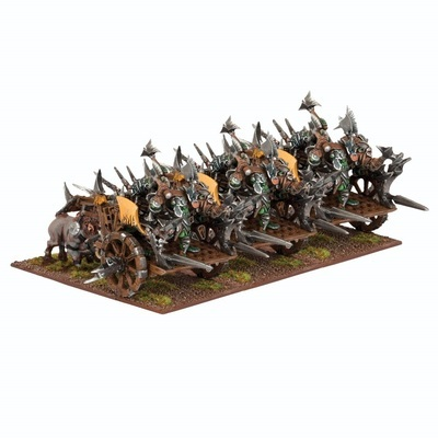 Orc Fight Wagon Regiment - Orks - Kings of War - Mantic Games