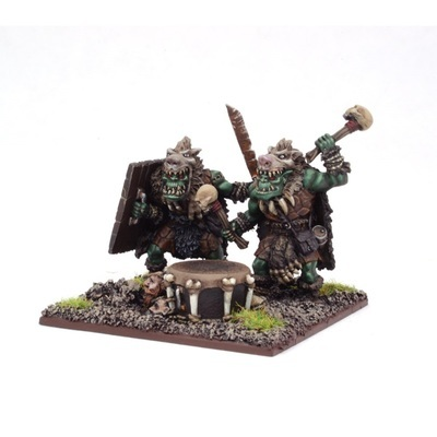 Orc War Drum - Orks - Kings of War - Mantic Games