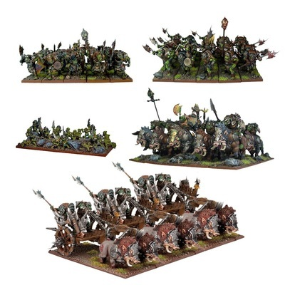 Orc Starter Force - Orks - Kings of War - Mantic Games