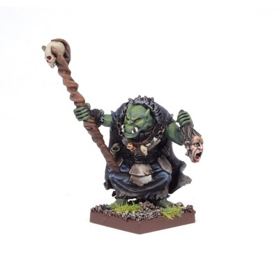 Orc Godspeaker - Orks - Kings of War - Mantic Games