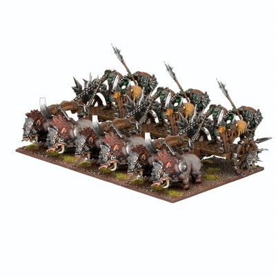 Orc Chariot Regiment - Orks - Kings of War - Mantic Games