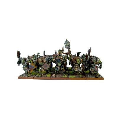 Orc Ax Regiment (15) - Orks - Kings of War - Mantic Games