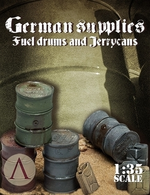 German Supplies: Fuel Drums and Jerrycans - Warfront - Scale75