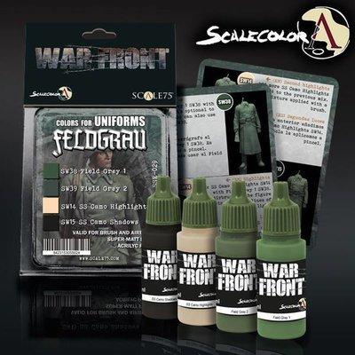 Scale75-D.A.K.-Feldgrau-Set-(4x17mL)- Warfront - Scale75