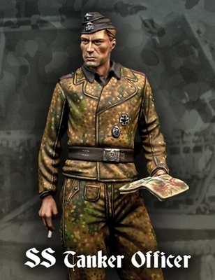 S Tank Officer - Warfront - Scale75