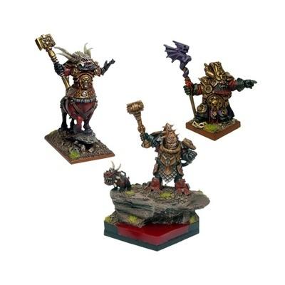 Abyssal Dwarf Lord's War Conclave - Abyssal Dwarfs - Kings of War - Mantic Games