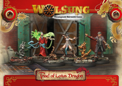Triad of Lotus Dragon - Club Starter 2 (6) - Wolsung