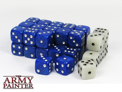 Wargamer Dice - Blue with White - Würfel - Army Painter