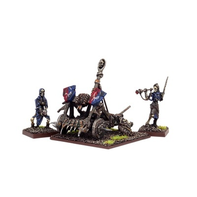 Undead Balefire Catapult (2 + War Machine) - Untote - Kings of War - Mantic Games