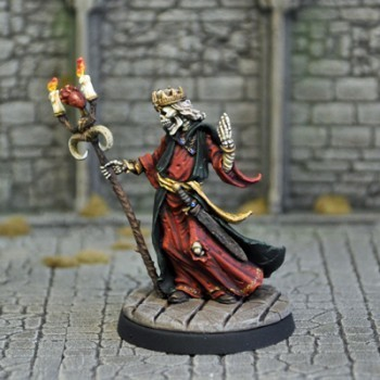 UD11a – Lich with Staff - Otherworld Miniatures