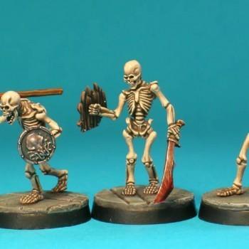 UD1b – Skeletons II (3) - Otherworld Miniatures