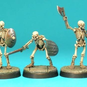 UD1a – Skeletons I (3) - Otherworld Miniatures