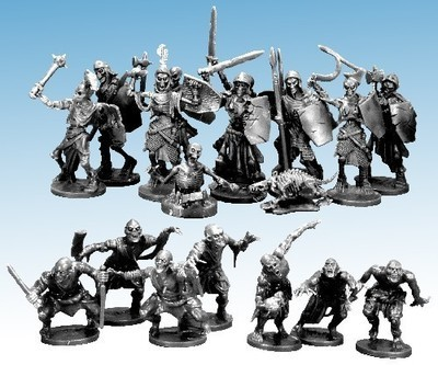 Undead Encounters Skeletons, Ghouls, Zombies - Frostgrave - Northstar Figures
